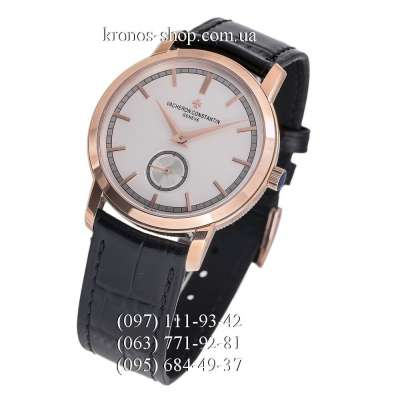 Vacheron Constantin Traditionnelle Small Second Hand Wound Black/Gold/White