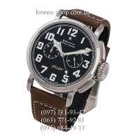 Zenith Pilot Montre d Aeronef Chronograph Brown/Silver/Black