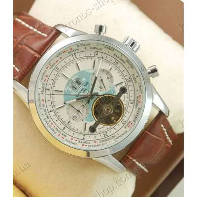 Breitling Transocean Brown/Silver/White