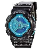 Casio G-Shock GA-110 Black/Light Blue AAA