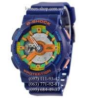 Casio G-Shock GA-110 Blue/Yellow AAA