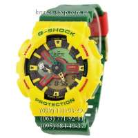 Casio G-Shock GA-110 Green/Yellow AAA
