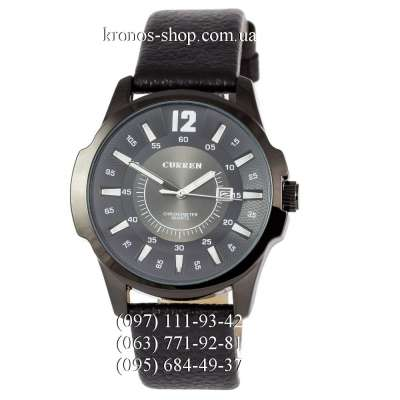 Curren Chronometr Quartz 8023 Black/Black