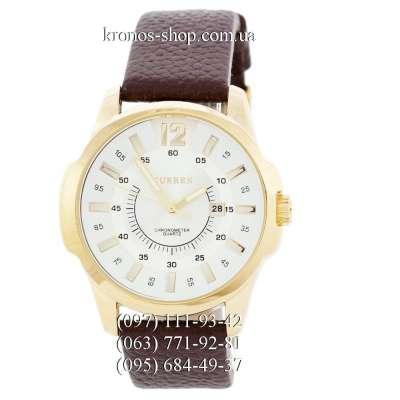 Curren Chronometr Quartz 8023 Gold/White