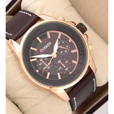 Curren Style 8187 Gold/Brown