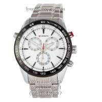 Curren Tachymeter 8189 Silver/Black/White