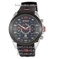 Curren 8166 Black/Silver-Black/Black