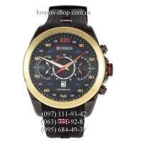 Curren 8166 Black/Black-Gold/Black