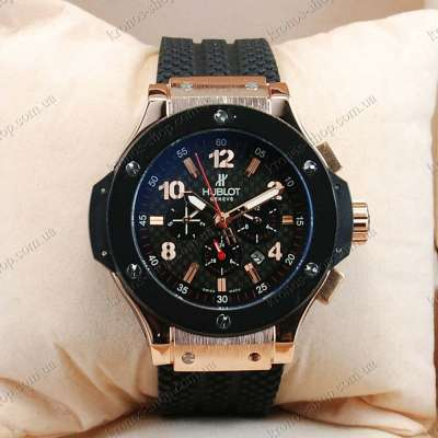 Hublot Big Bang Classic Automatic Black/Gold/Black-Red