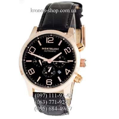 Montblanc TimeWalker Automatic Black/Gold/Black