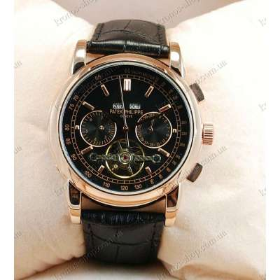 Patek Philippe Grand Complications Tourbillon AA Black/Gold/Black