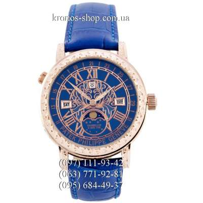 Patek Philippe Grand Complications 6002 Sky Moon Blue/Gold/Blue