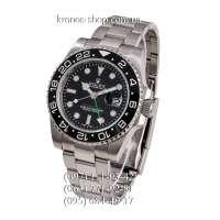 Rolex GMT Master II Silver/Black/Black