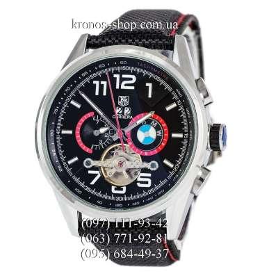 Tag Heuer Carrera BMW Power Tourbillon Black/Silver/Black-Red