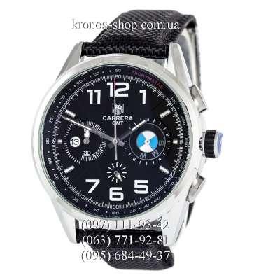 Tag Heuer Carrera BMW Chronograph Black/Silver/Black