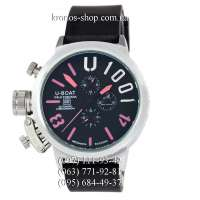 U-Boat Italo Fontana U-1001 Black/Silver/Pink