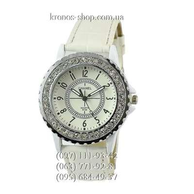 Chanel 8338 Quartz Diamonds All White