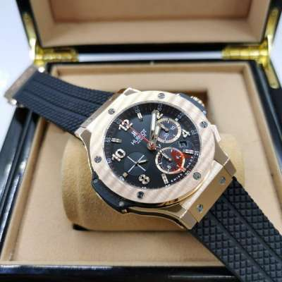 Hublot Big Bang Automatic Chronograph Gold Ceramic Black/Gold/Black