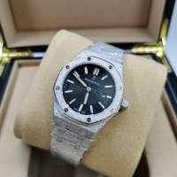 Audemars Piguet Royal Oak Frosted Silver/Black