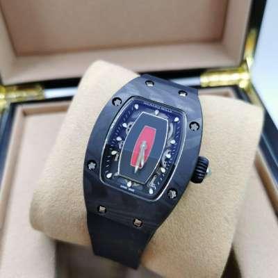 Richard Mille Watches RM 007 Ladie's Black/Black/Red