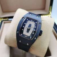Richard Mille Watches RM 007 Ladie's Diamond Black/Gold