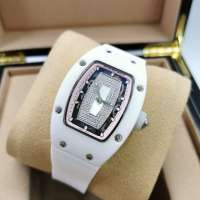 Richard Mille Watches RM 007 Ceramic Diamond Ladie's White/Rose/White