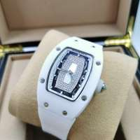 Richard Mille Watches RM 007 Ceramic Diamond Ladie's White/White