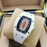 Richard Mille Watches RM 007 Ceramic Diamond Ladie's White/Red/White