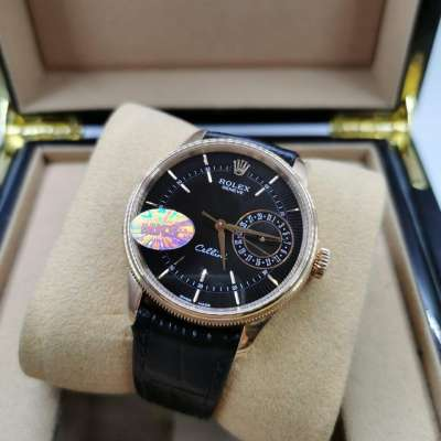 Rolex Cellini Date Gold/Black