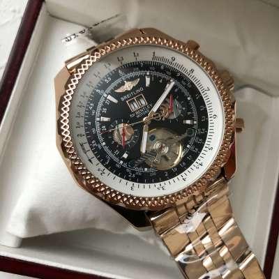 Breitling for Bentley Tourbillon Gold Bracelet