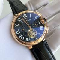 Cartier Ballon Bleu de Cartier Tourbillon Black Gold