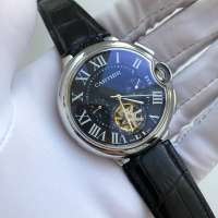 Cartier Ballon Bleu de Cartier Tourbillon Steel Black