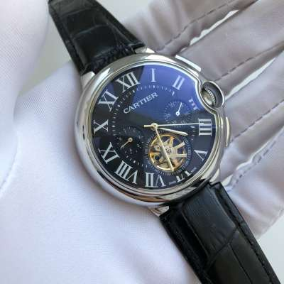 Cartier Ballon Bleu de Cartier Tourbillon Steel/Black