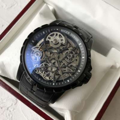 Roger Dubuis Excalibur Skeleton Automatic all Black