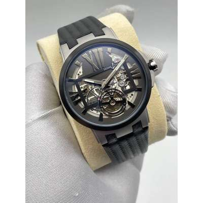 Ulysse Nardin Executive Skeleton Tourbillon Black/Grey/Black