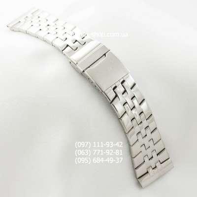 Браслет для часов Breitling All Silver (24х20 мм)