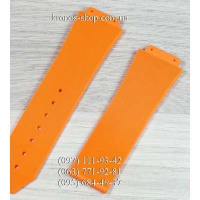 Ремешок для часов Hublot Big Bang All Orange (26х22 мм)