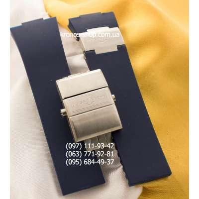 Ремешок для часов Ulysse Nardin Marine Butterfly AAA Blue/Silver (26х20 мм)