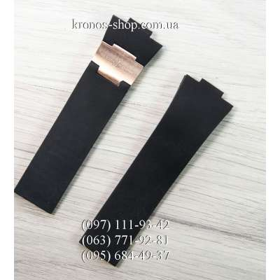 Ремешок для часов Ulysse Nardin Marine Black/Gold (26х20 мм)
