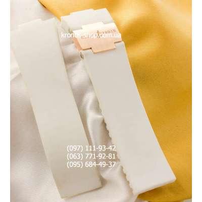 Ремешок для часов Ulysse Nardin Marine White/Gold (26х20 мм)