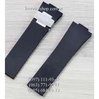 Ремешок для часов Ulysse Nardin Marine Black/Silver (26х20 мм)