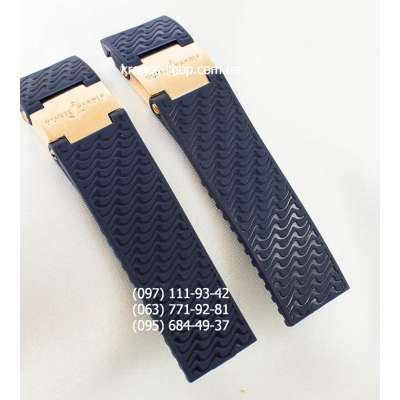 Ремешок для часов Ulysse Nardin Maxi Marine Diver Blue/Gold (22х20 мм)