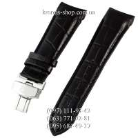Ремешок для часов Tissot Butterfly Black/Silver (22х20 мм)