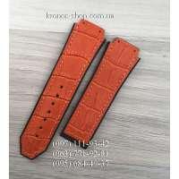 Ремешок для часов Hublot Leather Pattern Ginger (25х22 мм)