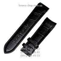 Ремешок для часов Tissot Leather Black (24х22 мм)