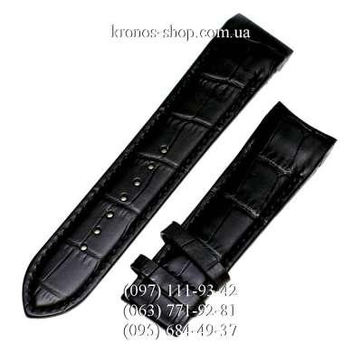 Ремешок для часов Tissot Leather Black (22х20 мм)