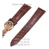 Ремешок для часов Patek Philippe Sky Moon Butterfly Brown/Gold (20х18 мм)