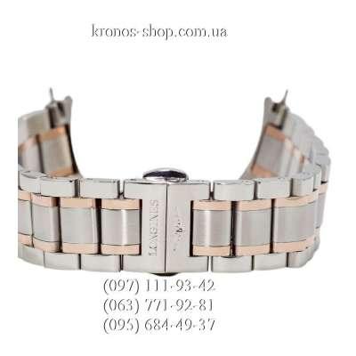 Браслет для часов Longines Silver-Gold (22х20 мм)