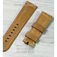 Ремешок для часов Officine Panerai Nubuck Ginger-Black (24х22 мм)