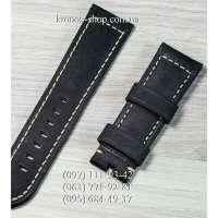 Ремешок для часов Officine Panerai Nubuck All Black (24х22 мм)